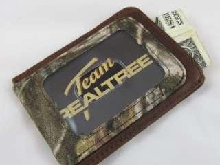 REALTREE AP Camo Front Pocket Wallet hunting fishing |