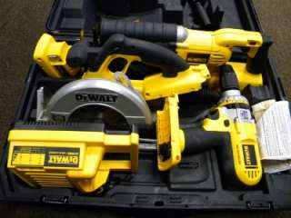 DeWALT DCX6401 36V Cordless Hammer Drill Impact Saw Tool Combo Kit