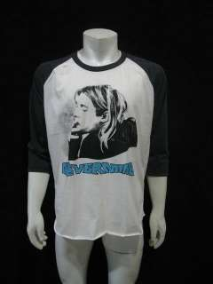Kurt Cobain NIRVANA NEVERMIND Vintage Jersey T Shirt L