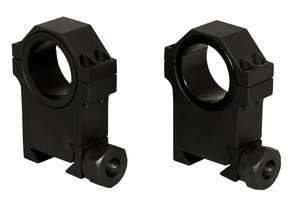 Heavy Duty High Profile 30mm Weaver Scope Rings 1 insert
