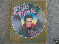Book Elvis World Softcovered book 210 pages