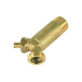 Camco Brass Water Heater Drain Valve 15104