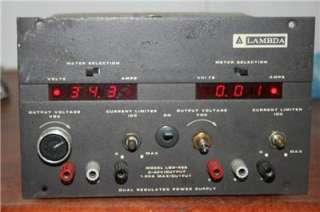 Lambda LQD 422 Dual Regulated Power Supply