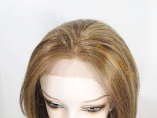 100% REMY Human Hair Lace Front Wig ANIYAH Choose Color