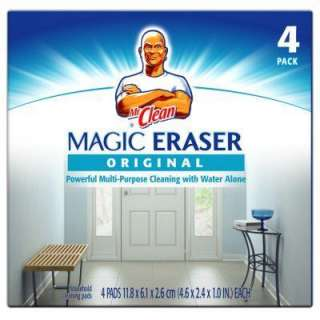 Mr. Clean Magic Eraser Multi Purpose Cleaning Pads 43516 at The Home