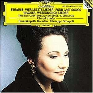 Letzte Lieder Cheryl Studer, Giuseppe Sinopoli, Sd, Richard Strauss