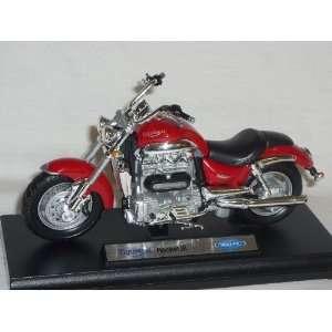 TRIUMPH ROCKET 3 III ROT 1/18 WELLY MODELLMOTORRAD MODELL MOTORRAD