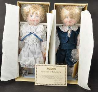 SEYMOUR MANN Hansel and Gretel Porcelain Dolls Connoiss