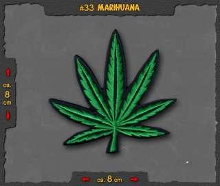 MARIHUANA ★ Joint Hanf Blatt Ganja Weed Pot Bong Cannabis Leaf