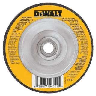 DEWALT 4 1/2 In. X 1/8 In. X 5/8 In.  11 General Purpose Metal Cutting