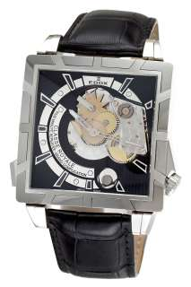 Edox Class Royale Mens Black Watch 87002 3 NIN 846341061399
