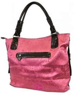 NWT Western HEART Print DIOPHY Jacquard Tote Purse Bag Handbag Wallet