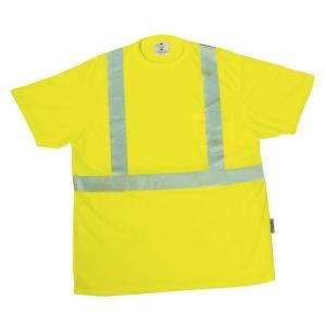 3M Tekk Protection Yellow Unisex Extra Extra Large Safety T Shirt
