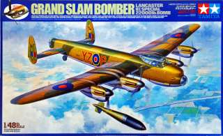 61504 Lancaster B1 Special Grand Slam Bomber 1/48 scale kit