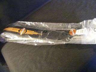 new sealed adjustable guitar strap new sealed harley davidson