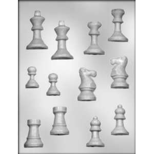 inch Chess Pieces Chocolate Candy Mold