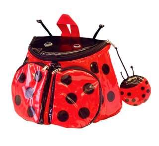 NWT Kidorable Childrens LADYBUG Backpack Lunch Bag NEW