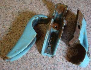 Antique Detroit Jewel Gas Stove Range Oven Door Hinges