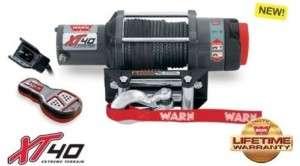 Warn UTV Quad XT40 Winch 4000 lb Capacity free Shippin