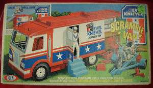 NIB Vintage Collectable Evel Knievel Scramble Van