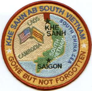 USAF BASE PATCH, KHE SAHN AIR BASE SOUTH VIETNAM *