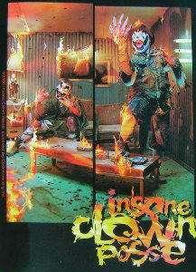 Insane Clown Posse ICP Living Room sticker decal I.C.P.