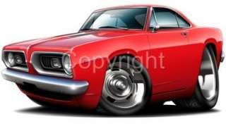 1963 64 Corvette Muscle Car Art Cartoon Tshirt Free