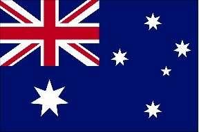 AUSTRALIA AUSTRALIAN VINYL FLAG DECAL / STICKER****