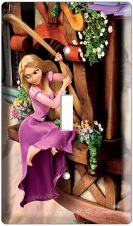 RAPUNZEL TANGLED MOVIE SINGLE LIGHT SWITCH COVER PLATE