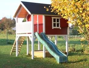 Spielhaus Bauanleitung Bauplan Stelzenhaus Kinderspielhaus selber