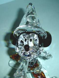 Swarovski Disney Mickey Mouse Sorcerer Large Crystal Figurine 955438
