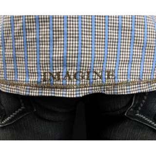 LENNON English Laundry Shirt SWINDLE CLOSE Brown Plaid JLW1329