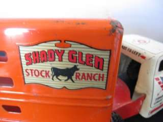 Vintage Wyandotte Arrow Truck Lines Shady Glen Stock Ranch Toy