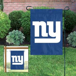 New York Giants Applique Embroidered Mini Garden & Window Banner Flag