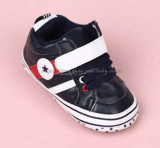 White Walking Stars Shoes Soft Sole Sneakers Size 3 12 Months
