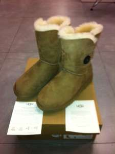 Australia Classic Bailey Button Chestnut Boot womens size 6 9 NEW