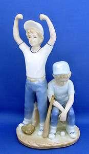Sebastian Figurine HOME RUN Happy & Sad Boys Blue White 9 Great Faces