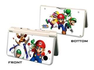 Game Character Vinyl Skin Sticker Fr Nintendo DSi XL LL