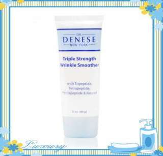 Dr. Denese Triple Strength Wrinkle Smoother 2 oz Tube. Rare Brand New