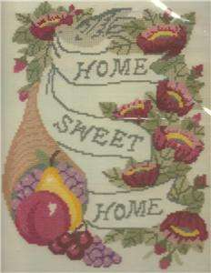 Needle Treasures HOME SWEET HOME COUNTED Kit Brand New