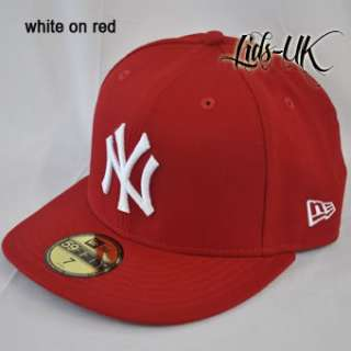 ERA 59fifty NY NEW YORK YANKEES FLAT PEAK 5950 FITTED CAP HAT