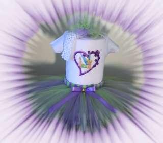 BABY GIRL TUTU DRESS ~TINKERBELL~CUSTOM BOUTIQUE SET,BIRTHDAY,★FREE