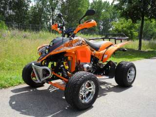 Quad Bike ATV Neu 4 Rad Motorrad Shineray 2 Personenzulassung 80 km/h