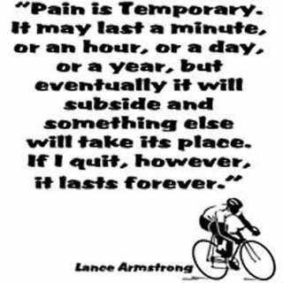 Lance Armstrong quote cycling Tshirt Multi colours 1