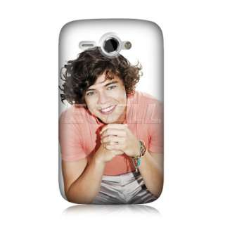 HARRY STYLES ONE DIRECTION 1D BACK CASE COVER FOR HTC CHACHA