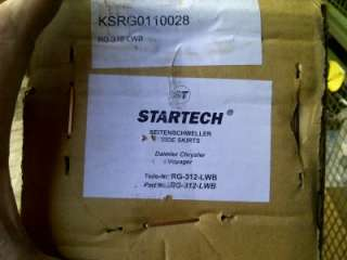 Chrysler Grand Voyager Startech illuminated side bars steps stow and