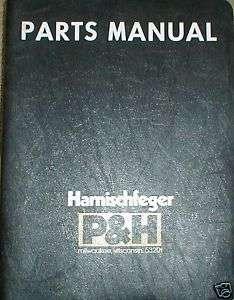 Omega 15 Crane Parts Catalog Manual Book