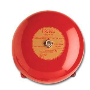GE Security 438D 8N5 R Fire Alarm Bell, 8 , Hazardous
