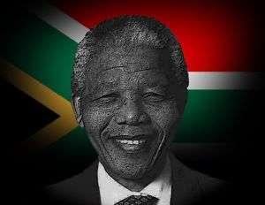 NELSON MANDELA   SOUTH AFRICA FLAG  Mouse Mat  New