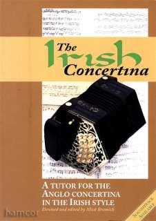 Concertina Learn How to Play Anglo Concertina Tutor Method Book